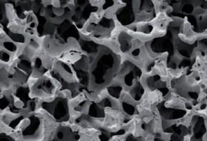 Zdj.2 Struktura przestrzenna implantu